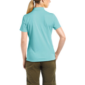 Maier Sports Ulrike Maglietta polo Donna, blue radiance